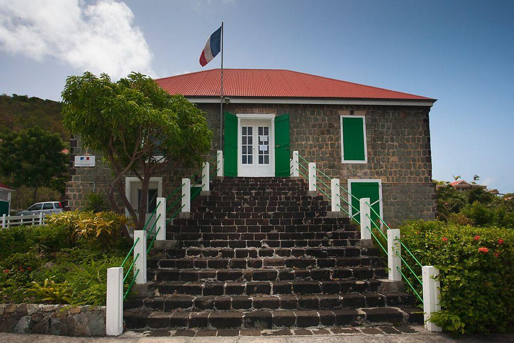 ancienne mairie St Barth